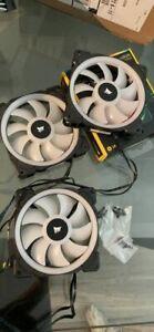 CORSAIR LL120 Dual Light Loop RGB LED PWM Fan 120mm  - Pack of 3