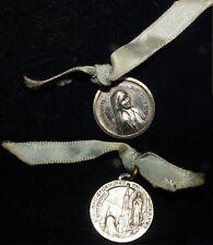 Médaille sainte Bernadette notre dame de Lourde 1958