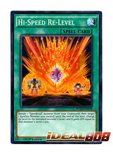 YUGIOH x 3 Hi-Speed Re-Level - BOSH-EN058 - Common - 1st Edition Near Mint