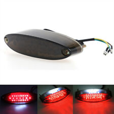 28 LED Motorrad Rücklicht Bremslicht ATV Brems Schwarz Rot Rückstrahler 12V