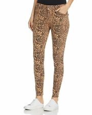 Parker Smith Ava Skinny Leopard Jeans Womens SZ 29 High Rise Ankle Length