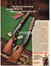 1968 Remington Model 742 Automatic Rifle Vtg Print Ad