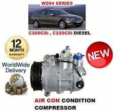 FOR MERCEDES C200 C220 CDi 2007 > NEW AC AIR CON CONDITIONING COMPRESSOR