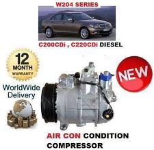 Per MERCEDES C200 C220 CDI 2007 -- > NUOVO AC aria con compressore CONDIZIONAMENTO