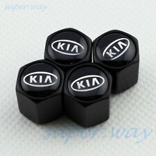 BLACK Wheel Tire Tyre Valve Stem Air Cap K2 K3 K5 K7 Carens Cee'd SOUL FORTE