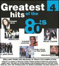 Best Greatest 80's Hits 2CD Tracey Ullman Ultravox Kajagoogoo Peter Tosh J.Geils