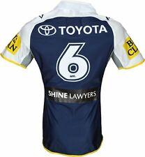 North Queensland Cowboys 2015 NRL No.6 Player Issue Home Jersey GPS pocket