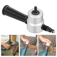 Double Head 360degree Rotating Cutting Head Metal Sheet Cutter Drill Attachment