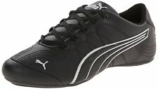 PUMA Womens Soleil V2 Comfort Fun Classic Sneaker, Black/Puma Silver, 9 B US