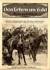 Kavallerie auf Vorposten in Russisch- Polen Bielefelder Sanitätshundführer 1915