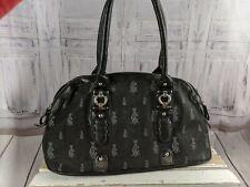 Christian Audigier black purse tote shoulder bag