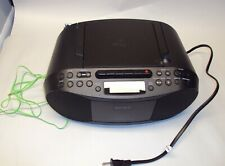 Sony Cfd-S70 Cd Cassette Boombox Am/Fm Headphone/Line-in Jack Tested