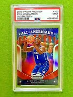 ZION WILLIAMSON RED PRIZM ROOKIE CARD GRADED PSA 9 SP RC 2019-20 Prizm DP SILVER