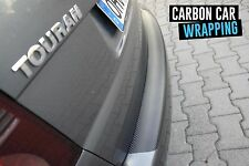 AUDI Q5 8R Ladekantenschutz 3D CARBON SCHWARZ CAR WRAPPING