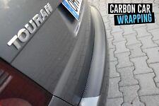 AUDI A4 B7 Avant Ladekantenschutz Schutfolie 3D CARBON SCHWARZ CAR WRAPPING