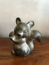 Tirelire vintage en fonte  écureuil / squirrel money box