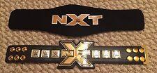 NXT Championship Mini Replica Title Belt Brand New with bag WWE 1 foot long