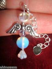 BEAUTIFUL TANZINE AURA CRYSTAL ANGEL CHARM PENDULUM