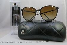 Chanel 5278 c.1456/S9 Polarized Tan/Black Plaid New Sunglasses 55mm w/Case