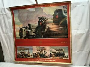 Pennsylvania Railroad 1946 Calendar Poster