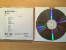 "VIC CHESNUTT-""DRUNK+BONUS""-RARE PROMO ONLY CDr ACETATE 2004-FOLK ROCK-NEW"