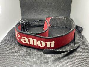 Genuine Red Canon Camera Strap