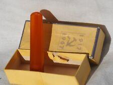 Vintage USSR pressed Amber Cigarette Mouthpiece Cigarette Holder 8 grams