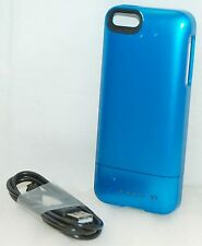 Mophie Juice Pack Helium Apple iPhone 5/5s/SE BLUE Rechargeable Battery Case D