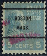 1938 5c with local precancel (8810-61) from BOSTON MA used by SEARS ROEBUCK