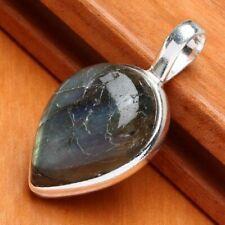 LABRADORITE PENDANT 925 sterling silver jewelry + FREE GIFT