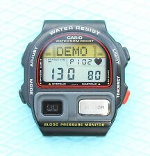 CASIO BP-100 Blood Pressure- MINT WATCH VINTAGE RARE RETRO Mod 900 MADE IN JAPAN