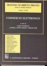 COMMERCIO ELETTRONICO - ROSSELLO, FINOCCHIARO, TOSI - GIAPPICHELLI, 2007