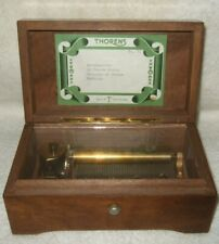 Thorens Music Box Switzerland 4 Tunes Vtg