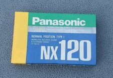 Panasonic NX 120 Blank Audio Cassette Tape Type I Normal Position Made in Japan
