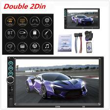 "2 DIN 7"" Car HD Touch Screen Stereo Multimedia MP5 Player Bluetooth USB FM Radio"