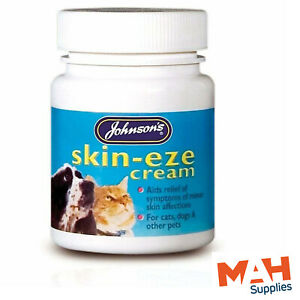 Johnson's Skin Eze Cream Dogs Cats Other Pets Soothing Relief From Irritations