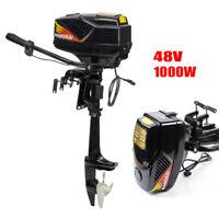 1000W 48V Electric Outboard Brushless Motor Fishing Boat Engine Trolling Motor