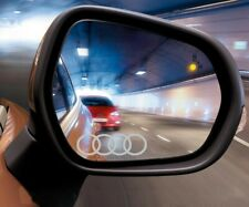 2x Audi Car Door Wing Mirror Etched Effect Decal Stickers A3 A4 A6 Quattro
