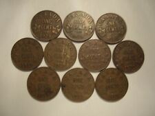 Canada George V 1929 Small Cents - Lot of 10 Coins