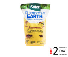 Safer 51703 Diatomaceous Earth-Bed Bug Flea Ant Crawling Insect Killer 4 lb