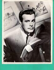 BILLY DE WOLFE Movie Star Promo 1940's Photo 8x10