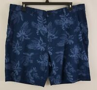 Tommy Hilfiger Men's Floral Cotton Shorts Navy Blaze