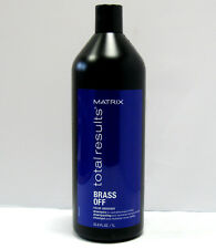 Matrix Brass Off Shampoo Liter 33.8 oz Color Obsessed