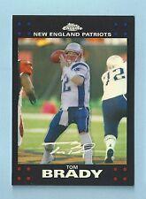 Tom Brady 2007 TOPPS CHROME Refractor PATRIOTS