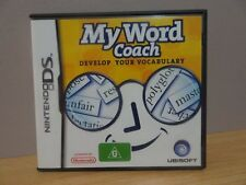 My Word Coach - Develop Your Vocabulary  Nintendo DS  Free Post AU