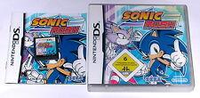 Jeu: Sonic Rush pour la Nintendo DS + Lite + DSI + XL + 3 DS 2 DS