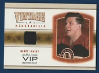 HARRY LUMLEY 03-04 IN THE GAME VIP 03-04 VINTAGE MEMORABILIA JERSEY NRMINT 16191