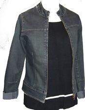 """New """"Virgin Ware"""" Stretch Denim Short Jacket- Size: XS and Small Only"""