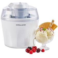 """Andrew James Ice Cream Maker - Voted """"Best Buy"""" By Which? Magazine. 1.5 Litre -"""