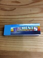Elements Premium Cotton Rolling Paper Tips 50 Tips Chlorine & Chemical Free